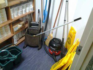 janitor's closet